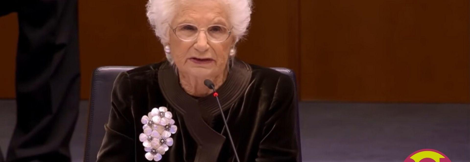 liliana segre discorso europarlamento